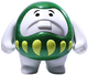 Green Glitter Super Darumboya