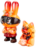Orange Dorobanii + Maneki Wananeko (set)