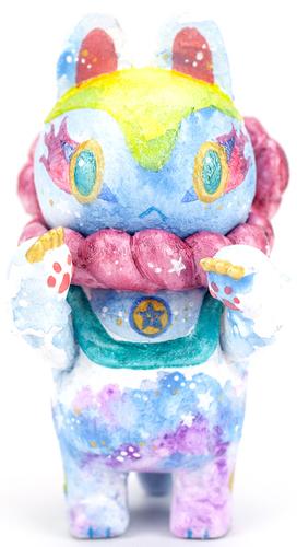 Inu-harigon_from_planet_rainbow_sparkles_pink_collar-teresa_chiba-inu-harigon-trampt-294584m