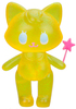 Pooltime Kitty - Glittery Yellow