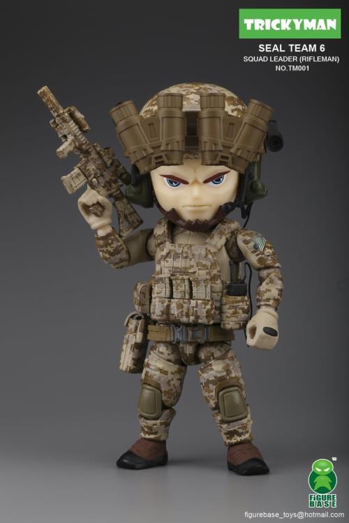 FigureBase Trickyman Seal Team 6 Night Stalkers Pilot Soldier TM004 Action Figur