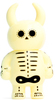 Day of the Dead Pastel Yellow Uamou