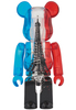 Colette Eiffel Tower Flag Be@rbrick