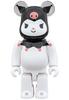100% Hello Kitty - Kuromi Be@rbrick