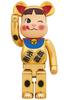 1000% - Milky Peko-chan Gold Beckoning Cat