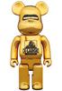 400% Gold XLARGE(R) Be@rbrick