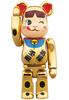 100% - Milky Peko-chan Gold Beckoning Cat