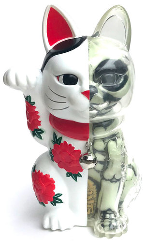 White_gid_lucky_cat_x-ray-three_tides_tattoo_hirakawa_hiroshi-lucky_cat_x-ray-secret_base-trampt-297166m