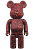 400% Leather Rose Be@rbrick
