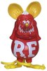 Red & Yellow Rat Fink