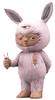 Pink Baby Rabbit (BTS '18)