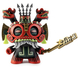 Red Tlaloc Dunny