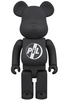 400% Black PiL Be@rbrick