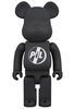 1000% Black PiL Be@rbrick