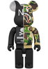 400% Neighborhood X Bape Camo Shark Be@rbrick