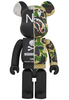 1000% Neighborhood X Bape Camo Shark Be@rbrick
