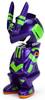 Metallic Violet & Green Gen1 Crouching TEQ63