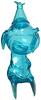 Clear Blue Calliope Jackalope