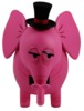 Top Hat Pink Elephant Bank
