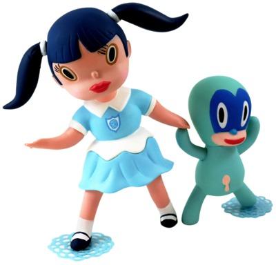 Blue_veronica_wild_girl__chou_chou-gary_baseman-wild_girls-3d_retro-trampt-298490m