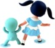 Blue_veronica_wild_girl__chou_chou-gary_baseman-wild_girls-3d_retro-trampt-298491t