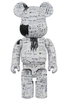 400% Jean-Michel Basquiat #3 Be@rbrick