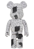 1000% Jean-Michel Basquiat #3 Be@rbrick