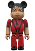 100% Thriller Red Jacket Michael Jackson Be@rbrick