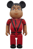 400% Thriller Red Jacket Michael Jackson Be@rbrick