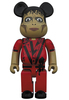 400% Thriller Zombie Michael Jackson Be@rbrick