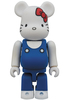 100% 45th Anniversary Hello Kitty Be@rbrick