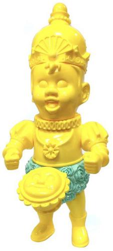 Unpainted_yellow_the_auspicious_guy-kikkake_atsushi_kotaki-the_auspicious_guy-kikkake_toy-trampt-298697m