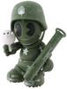 Sgt Robot Army Green [Kidrobot 17]