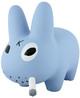 """10"""" GID Blue Smorkin Labbit"""