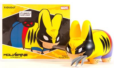 Wolverine_labbit-frank_kozik_marvel-labbit-kidrobot-trampt-300251m