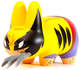 Wolverine_labbit-frank_kozik_marvel-labbit-kidrobot-trampt-300252t