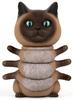 Siamese Kittypillar (Tenacious Toys)