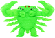Green Blank Poisonous Scorpion Kaiju