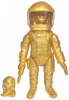 Gold Glitter Future Ape