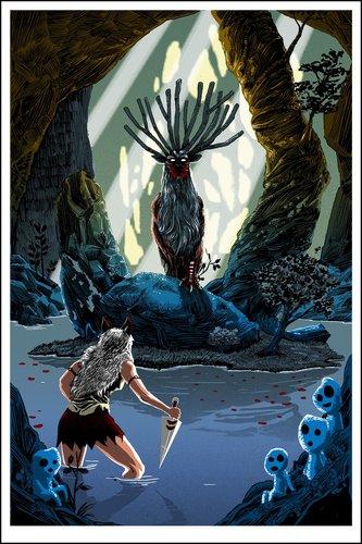 Pool_of_the_forest_god__gid_variant_princess_mononoke-tim_doyle-screenprint-trampt-301799m