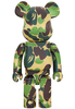 1000% Green ABC Camo Be@rbrick