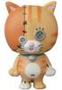 Orange Dancing Button Cat