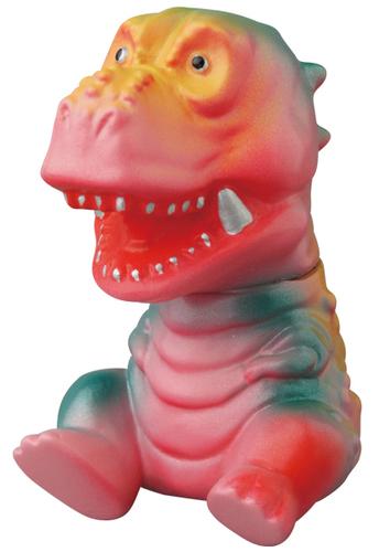 Pink__green_dinosaur_beast-cojica_toys_hiramoto_kaiju-vag_vinyl_artist_gacha-medicom_toy-trampt-302044m