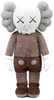 "20"" Brown Companion Plush : Kaws Holiday"