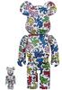 100% + 400% Keith Haring #1 Be@rbrick (Set)
