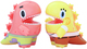 Spongebob & Patrick Little Dino (Set)