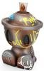 Canbot Robot Love (gold skull)