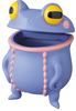 Purple Chibi Utsubo Frog