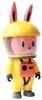Yellow Labubu Astronaut