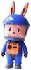 Blue Labubu Astronaut